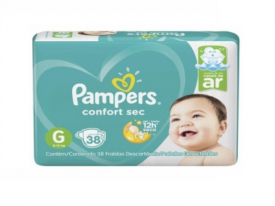 PAMPERS CONFORT SEC MEGA